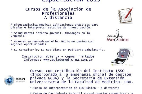 Cursos de la Asociación de Profesionales A distancia.